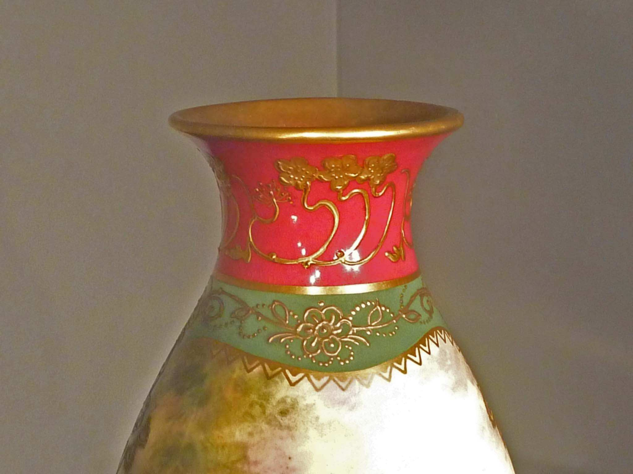 Hand painted royal bonn vase artist signed click to open image click to open image reviewsmspy