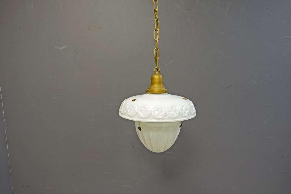 Hanging Glass Pendant Light Fixture