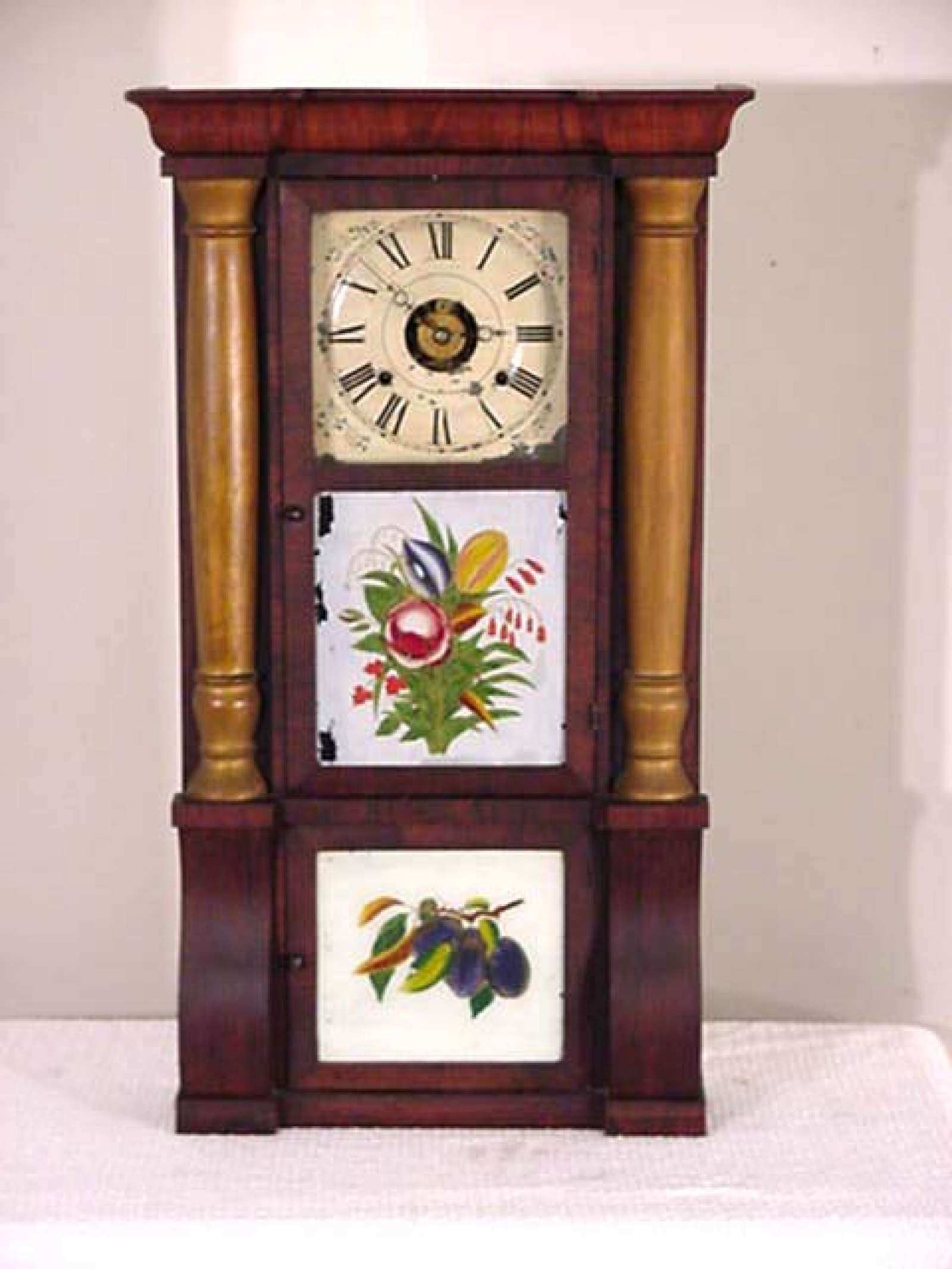 Seth Thomas, Triple Tablet, Column Clock