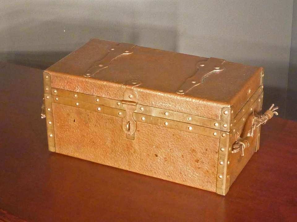 Hammered Copper Box, Handmade