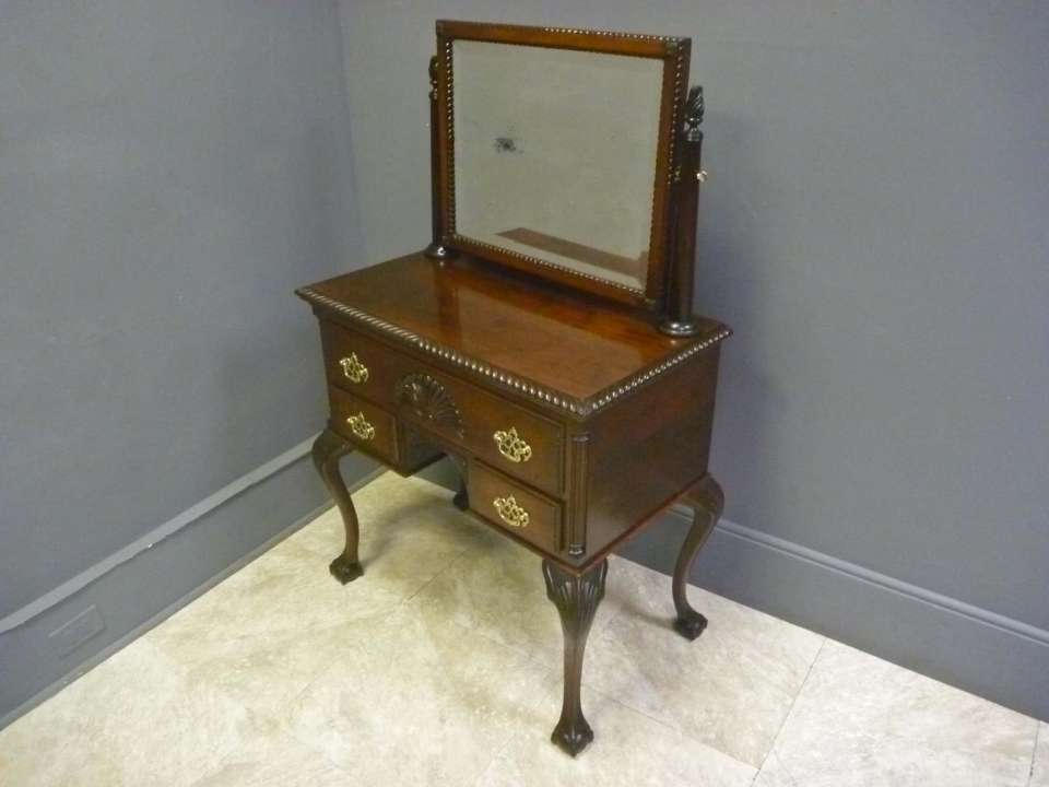Mahogany Chippendale Centennial Dressing Table