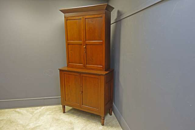 2 Piece Cherry Cabinet, Shaker Style