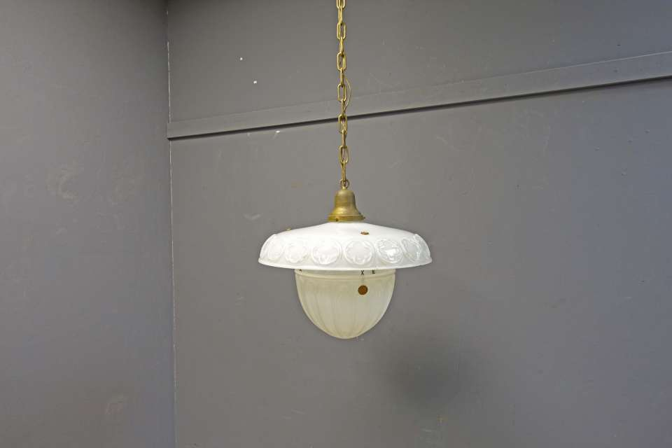 Hanging Glass Pendant  Store Light Fixture