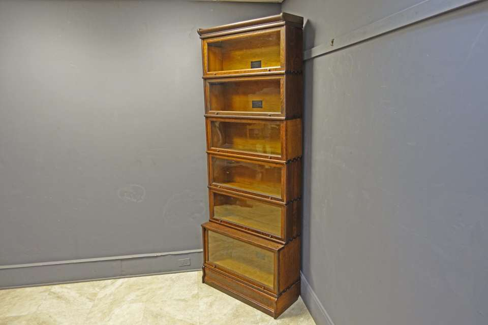 Oak Barrister Bookcase by Macey