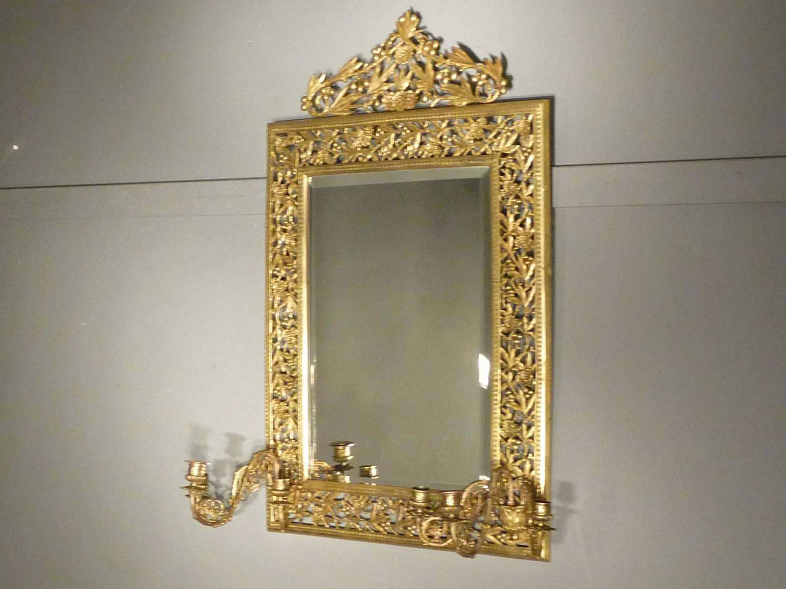 Bronze Mirror, Sconce