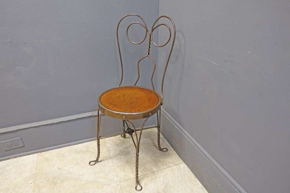 Metal Wire Ice Cream Chair or Side Chair