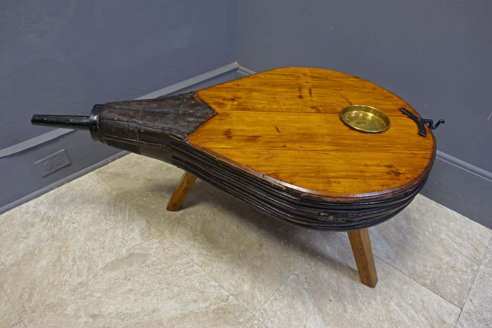 Blacksmith's Bellow Coffee Table