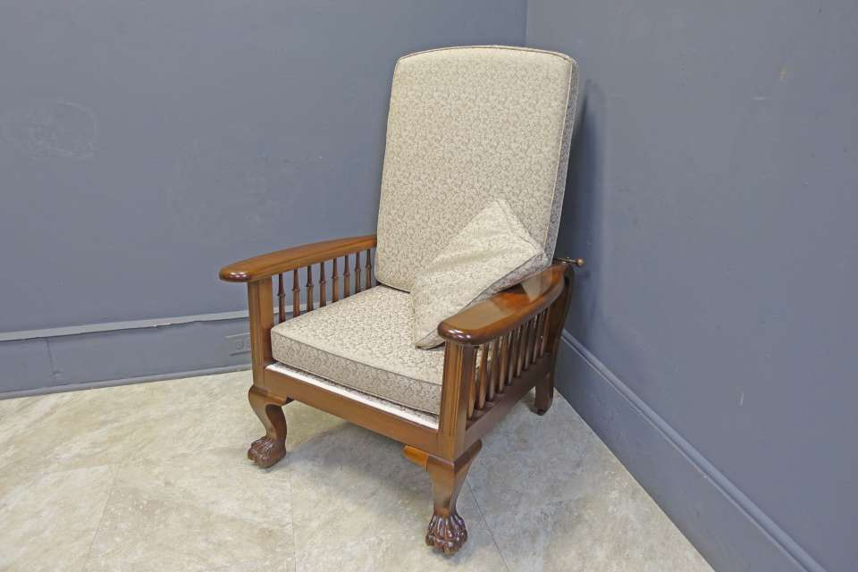 Mahogany Morris Reclining Chair